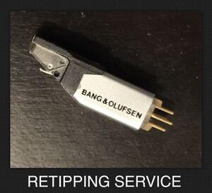 Bang & Olufsen MMC4 MMC5 Cartridge Upgrade to MMC3 Nude Elliptical Retipping