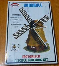 Model Power N #1578 Building Kit -- Motorized Windmill