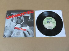 "THE UNWANTED Secret Police RAW 7"" RARE 1978 ORIGINAL UK 1ST PRESSING RAW15"