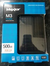 Maxtor M3 500GB External Hard Drive