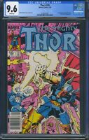 Thor 339 (Marvel) CGC 9.6 White Pages 1st Stormbreaker hammer Newsstand