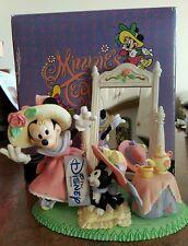 Disney Store Minnie Mouse TEA PARTY Medium Figure RARE VINTAGE NEW