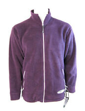 Hodge Heg Ezee Mens Fleece Jacket Coat (Plum) - M