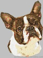 Embroidered Sweatshirt - Boston Terrier Dle1490 Sizes S - Xxl