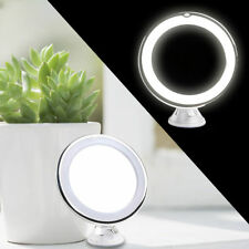 7x Magnifying LED Lighted Make Up Shaving Vanity Mirror with Suction Cup UK