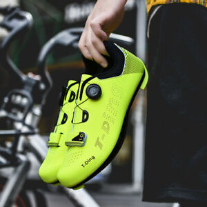 Anti-Slip Breathable Cycling Shoes Men Shoes  Road Bike Bicycle Sneakers