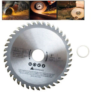 Alloy Heavy Duty 125mm Circular Saw Blade Wood Cutting Disc For Angle Grinder