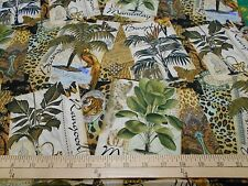 "1 yard Springs ""Exotic Travel"" Fabric"