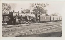 MINT 1930s Real Photo Iconic 4-8-2 Train Engine #4035 Rock Island Railroad