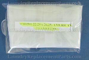 """50-60 LINT SCREEN 22 1/4"""" X 26"""", FRAMELESS FOR AMERICAN DRYER PART# 800501"""