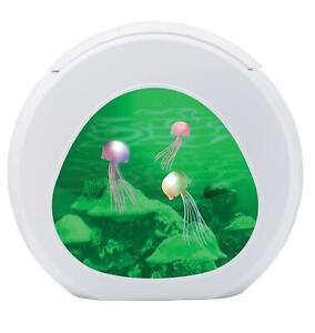 Realistic Jellyfish Lamp Colour Changing Aquarium Night Light LED Fish Tank