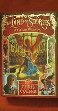 SIGNED CHRIS COLFER The Land of Stories: A Grimm Warning Bk. 3  2014, Hardcover