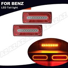 2X LED Rückleuchte Versammlung  Lauflicht Bremslicht Für Mercedes G-Klasse W463