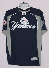 Majestic New York Yankees Youth Pullover V-Neck T-Shirt Youth M