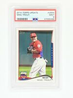 2014 Topps Update #US54 Mike Trout Angels PSA 9 MINT MVP Angels 🔥