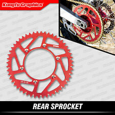 Rear Aluminum Sprocket 52T for CR CRF XR 125 150 230 250 500 450 650 R Dirt Bike