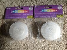 Darice Plastic Canvas Circle 4-1//4 Inches Pack of 8