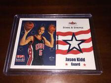 Panini Jason Kidd Basketball Trading Cards