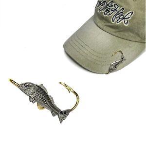 Red Bones hat hook hat clip - Redfish Hookit®️ By Off The Hook Jeweler©️