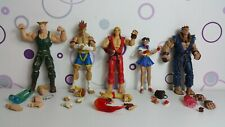 Street Fighter Action Figur Guile Adon Ken Sakura Akuma Sota Toys RAR