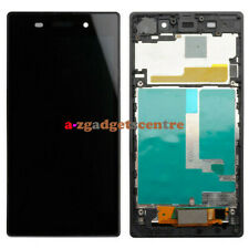 For Sony Xperia Z1 C6903 LCD Screen Display Touch Digitizer Assembly Black Frame