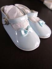 Light Blue Patent w/bows Buckle Mary Jane Shoes CHATTY CATHY FREE SHIPPING