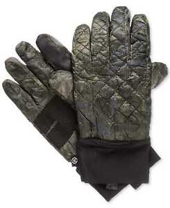 Isotoner Men's Quilted Thermal Stretch Smart Touch Winter Gloves