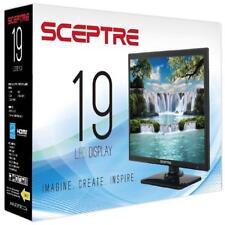 NEW Sceptre 19 Inch Class 60Hz Effective Refresh HD 720P Resolution LED TV Black