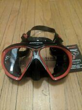 New listing Atomic Aquatics Subframe Scuba Mask (Black/Red)- Medium Fit