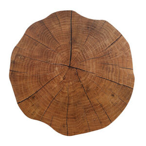 Wooden Home Decor Placemat Tableware Plate Mat Non-slip Kitchen Table Coaster