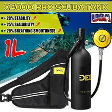 Dideep 1L Scuba Tank Underwater Diving Cylinder Oxygen Reserve Air Equipment