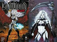 Lady Death Rules Volume 1 Limited Hardcover GN Signed #ed + Print OOP New NM