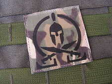 SNAKE PATCH - SPARTAN MULTICAM - chevalier croisade AFGHANISTAN Airsoft US
