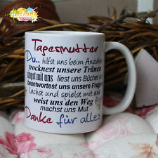 Tasse / Tagesmutter -wir/ Geschenk KITA Weihnachten Tagesmama DANKE