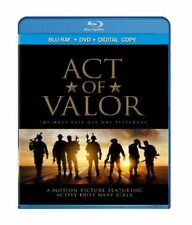Act of Valor (Blu-ray/DVD, 2012, 2-Disc Set) NEW SEALED
