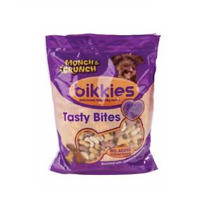 Munch And Crunch Dog Treats Bikkies Tasty Bites 350g