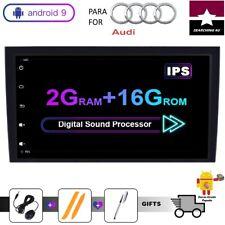 """RADIO 2 DIN GPS 8"""" AUDI A4 B6 B7 S4 B6 RS4 SEAT Exeo 02-08 2GB RAM WIFI. ESPAÑA"""