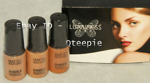 LUMINESS AIR - Airbrush Makeup 3 pc MED Shade #4 #5 #6 MATTE Foundation SET NEW