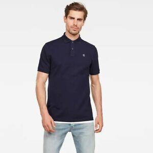 G-Star Raw Men's Dunda Slim Fit Polo Shirt Short Sleeve Top Size Small RRP £39
