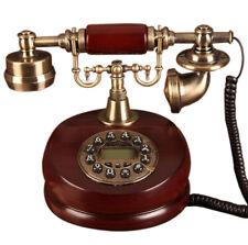 Vintage Antik Retro Anrufer Id Handgerät Schreibtisch Holz Telefon Hand- Gratis
