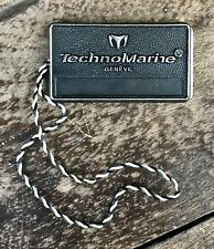 TECHNOMARINE Watch Tag Hangtag Cruise 110045 110046 110037 110039 Techno Marine