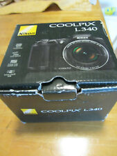 Nikon Coolpix L340 20.2MP Digital Camera 28x Nikkor Optical Zoom 3.0