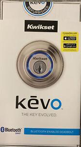 Kwikset Kevo 0.4 Touch-to-Open Bluetooth Smart Lock New