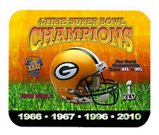 Item#339 Green Bay Packers Championship Helmet Mouse Pad