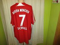 "FC Bayern München Adidas Trikot 2007/08 ""-T---Home-"" + Nr.7 Scholl Gr.XXL TOP"