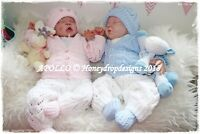 Honeydropdesigns * APOLLO* PAPER KNITTING PATTERN * Reborn/Baby Newborn-3 Months