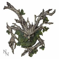 More details for wylde jack wall hanging plaque 38cm high green man nemesis now