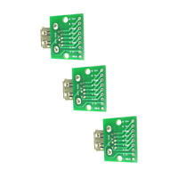 3PCS USB 3.0 Female Socket Receptacle To DIP Board Module 9pin Converter