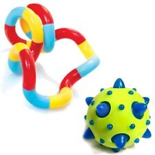 Flashing Comet Ball and Genuine Zuru Tangle - Sensory Toy -  ADHD - Fidget