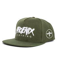 Phoenix terre Casquette Snapback - Vert Olive Fashion A CAP BONNET NEUF Homme